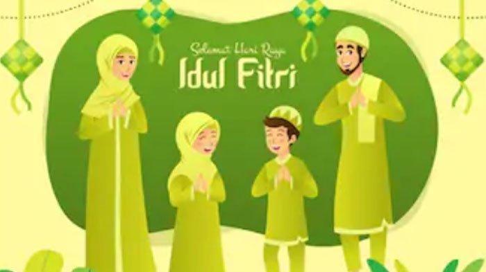 Contoh Ucapan Lebaran Idul Fitri 2021 Bahasa Jawa, Inggris, dan Indonesia Pas Dibagi di FB, WA, IG