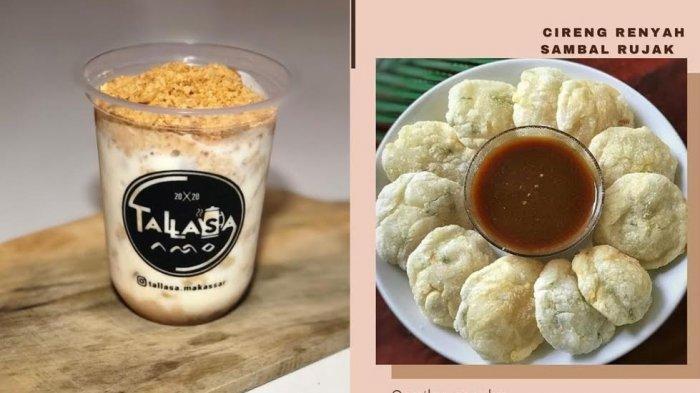 Minuman dan Cemilan di Kedai Tallasa Makassar, Mulai Rp 10 Ribuan Ada Ice Creamy Regal hingga Cireng