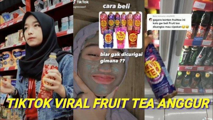 Penjelasan Lengkap Kenapa Fruit Tea Rasa Anggur Blackcurrant Viral di Medsos, Pantasan Kasir Senyum