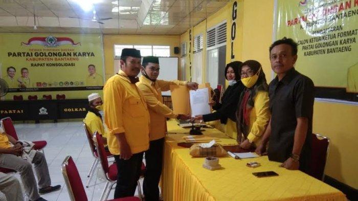Menantu Nurdin Abdullah Jadi Calon Tunggal Ketua Golkar Bantaeng