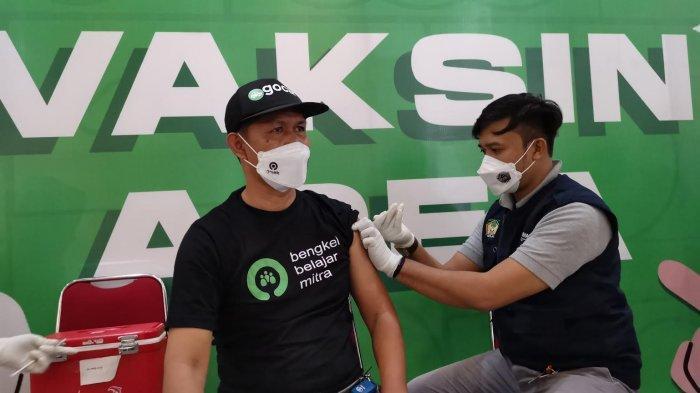 Vaksinasi Mitra Driver Gojek Rambah 29 Kota dalam Empat Bulan