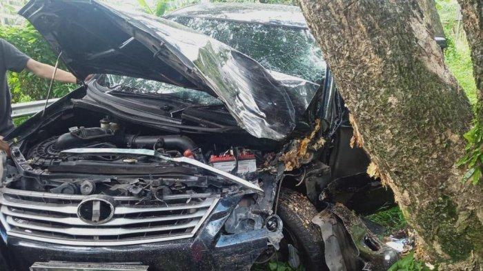 Kondisi Kepala Dinas PMD Majene Setelah Kecelakaan di Dusun Sumakuyu