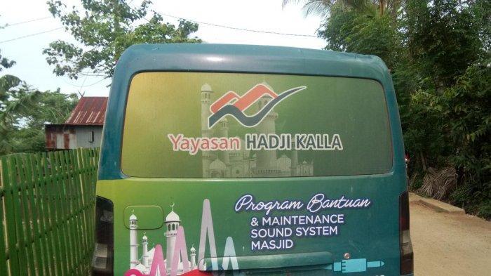 Masjid Dusun Sambau Desa Padanglampe Terima Bantuan Sound System dari Yayasan Kalla - mobil-yayasan-hadji-kalla.jpg