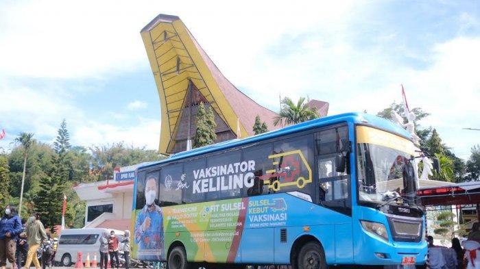 Tiga Hari Operasikan Mobile Vaccinator, 12 Ribu Warga Toraja Utara dan Tana Toraja Divaksin