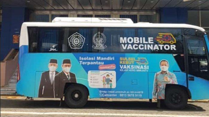 Unismuh Siapkan Mobile Vaksinator, Beroperasi Pekan Depan