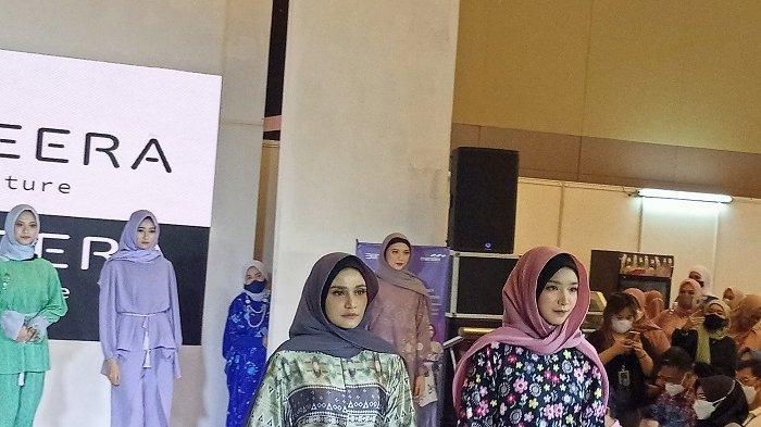 50 Peserta Ramaikan Trend Hijab Expo di Claro Makassar