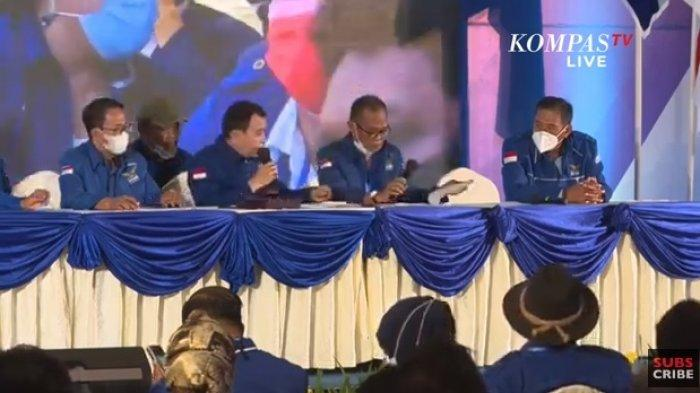 VIRAL KLB Partai Demokrat yang Angkat Moeldoko Diduga Pakai Massa Bayaran, Kepergok Rebutan Uang