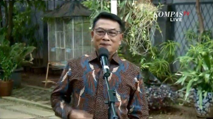 Moeldoko Tersenyum Jawab Isu Keinginan Jadi Ketua Umum Partai Demokrat hingga Kudeta AHY