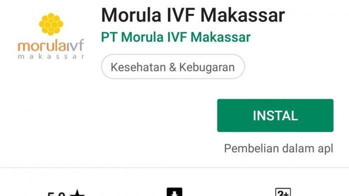 Pertama di Indonesia, Morula IVF Makassar Launching Mobile Apps