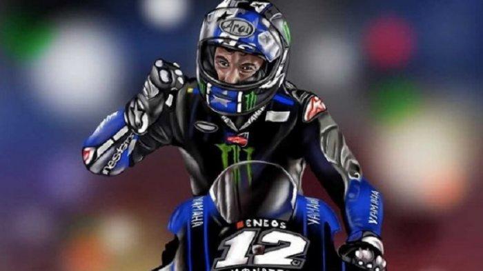 MotoGP Doha 2021 Live Strans7, Mimpi Buruk Valentino Rossi di Sirkuit Losail, Vinales Diuntungkan