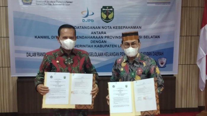 DJPb Sulsel-Pemkab Luwu Teken MoU Soal Akuntabilitas-Transparansi Keuangan
