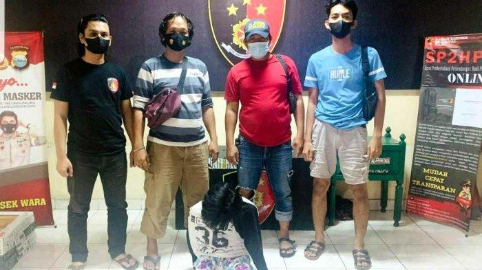 Terekam CCTV Curi Uang Rp1,5 Juta di Kafe Bisang Palopo, Warga Tompotikka Ditangkap Polisi