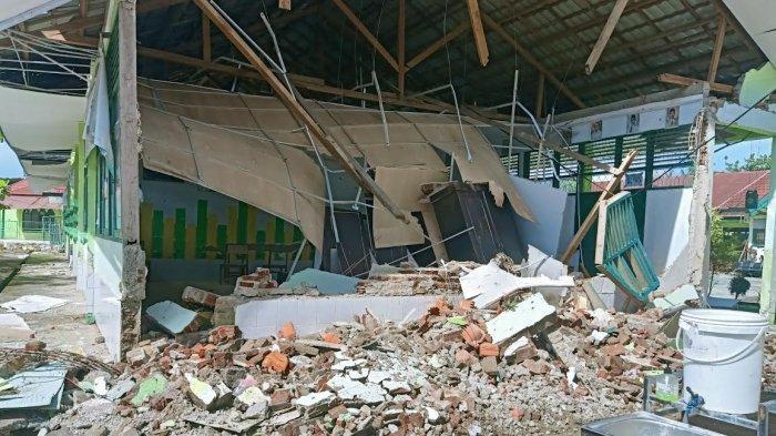 Terdampak Gempa Sulbar, 153 Sekolah dan 77 Gedung Kantor di Mamuju Rusak