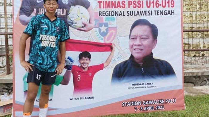 Muh Arham Darmawan, Pemain Asal Desa Cendana Putih Luwu Utara Dipanggil Seleksi Timnas U-16