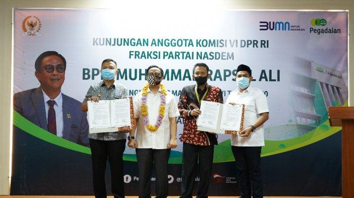 Di Depan Anggota Komisi VI DPR RI, Alim Sutiono Paparkan Capaian Omset Pegadaian Kanwil VI Makassar