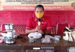 Terapkan Protokol Kesehatan, Dosen UNM Gelar Program Kemitraan di Sidrap