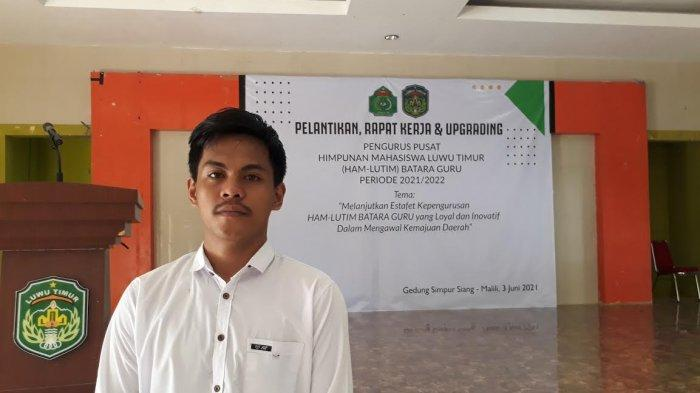 Muh Warka Sultani Resmi Jabat Ketua HAM-Lutim Batara Guru 2020-2021