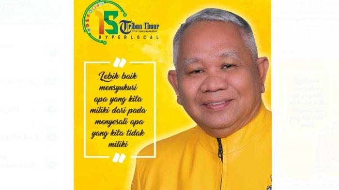 Muh Yasir Caleg DPR RI Partai Golkar: Selamat Ulang Tahun Tribun Timur, Referensi Berita Politik
