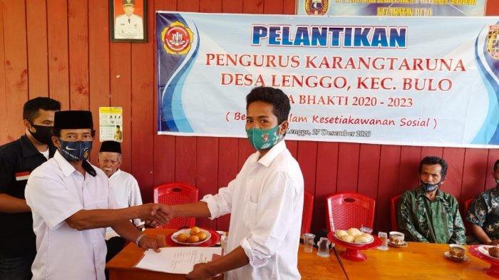 Alumni UINAM Makassar Terpilih Ketua Karang Taruna Desa Lenggo Polman