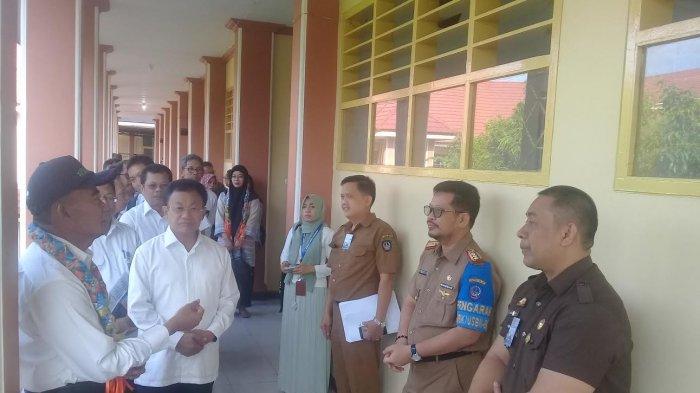 Mendikbud Muhadjir Effendy Pantau UNBK di SMAN 21 Makassar