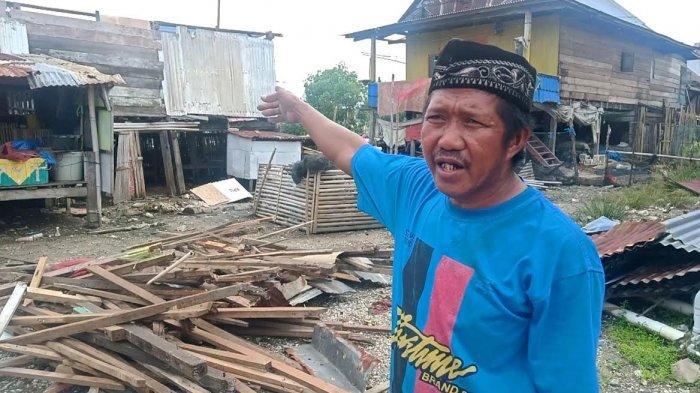 Kesaksian Korban Angin Kencang di Desa Botto Wajo, Atap Rumah Terbang Hingga Menggigil Kehujanan