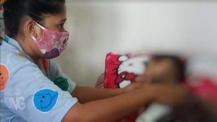 Dinkes Sulsel Pantau Perkembangan Asril, Bocah Penderita Gizi Buruk di Botto Benteng Wajo