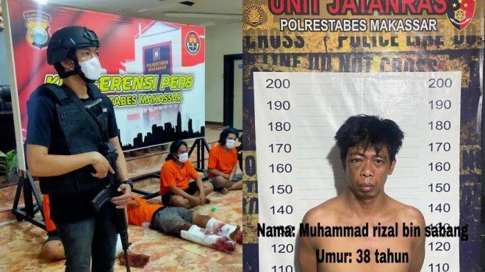 Tak Hanya Rampok dan Rudapaksa Mahasiswi, Ini 11 Laporan Polisi Rizal Cs di Makassar