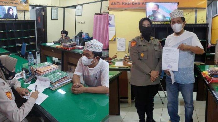 Aktivis Bulukumba Musafir Laporkan Dirfan Susanto ke Polda Sulsel