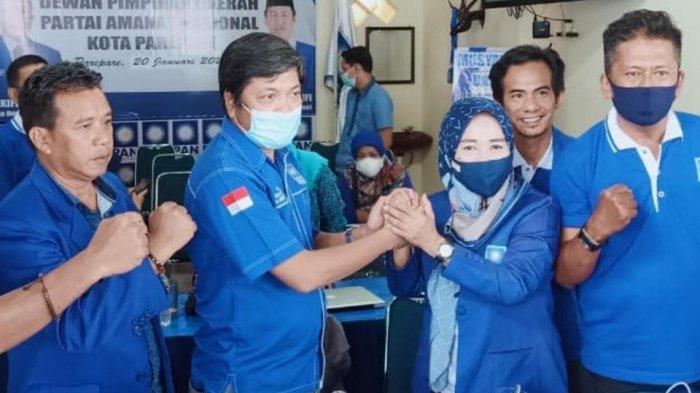 Adik Ketua Golkar Sulsel Taufan Pawe Terpilih Pimpin PAN Parepare
