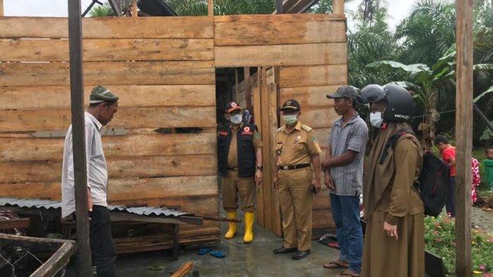 Angin Kencang Rusak 25 Rumah di Desa Sukaraya Luwu Utara