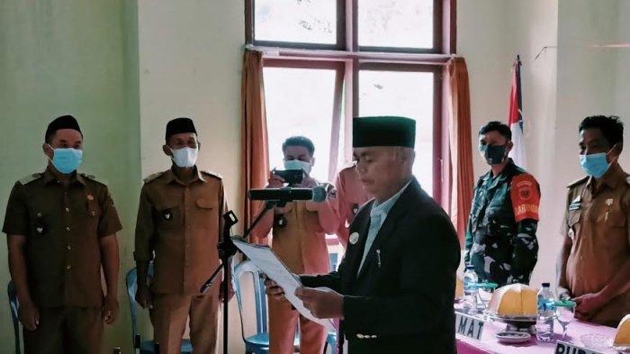 Lantik 39 Anggota BPD di Kecamatan Bungin, Bupati Enrekang: Tak Boleh Jadi Penghambat