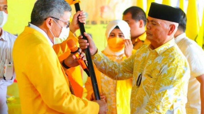 Muslimin Bando Kepala Daerah ke-10 Pimpin Golkar di Sulsel, Taufan Yakin Beringin Jaya di Enrekang