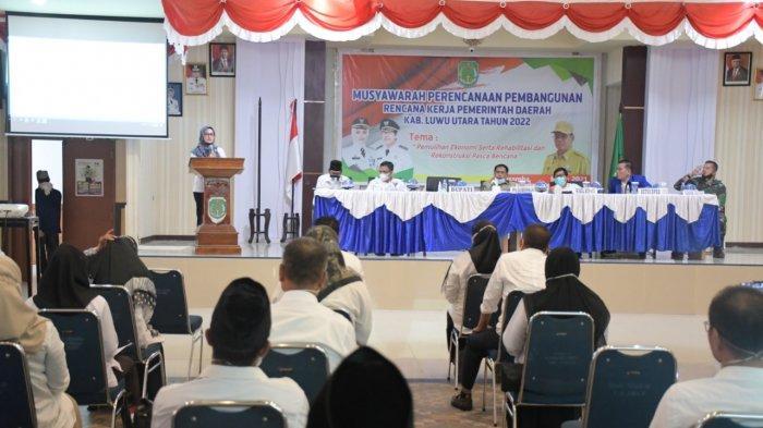 1.483 Usulan Masyarakat dalam Musrenbang RKPD Luwu Utara, 57,8% Sektor Infrastruktur