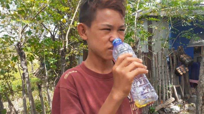 Mustafa, Remaja di Bontorannu Jeneponto Kecanduan Hirup Aroma Bensin, Ternyata Sejak Umur 1,6 Tahun