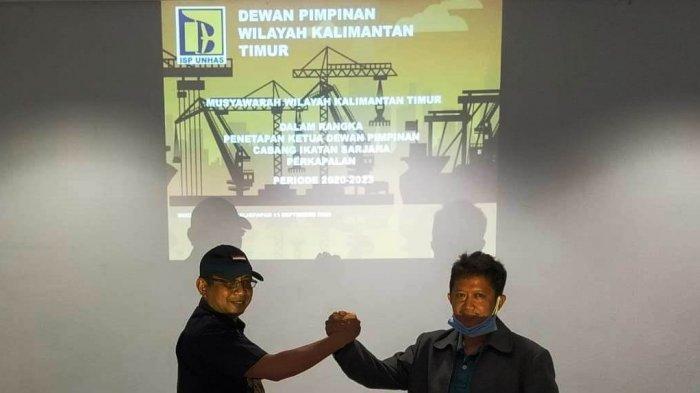 Ikatan Sarjana Perkapalan Universitas Hasanuddin atau ISP Unhas wilayah Kalimantan Timur (Kaltim) melakukan musyawarah wilayah, Minggu (13/9/2020).