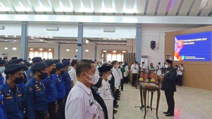 Bupati Maros Chaidir Syam Lantik 139 Pejabat Pemkab, dari Eselon III hingga IV