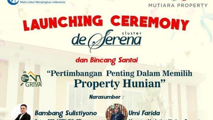 Digelar 28 Desember, Launching Ceremony Cluster De Serena Berhadiah Mobil Honda Brio