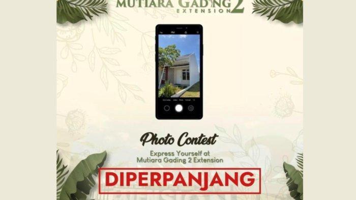 Photo Contest Mutiara Gading 2 Extension Diperpanjang Hingga 17 Oktober