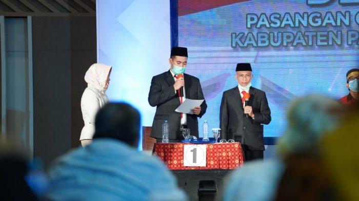 Debat Terakhir Pilkada Pangkep, Soal Keterbukaan Informasi dan Korupsi, Ini Jawaban MYL-SS