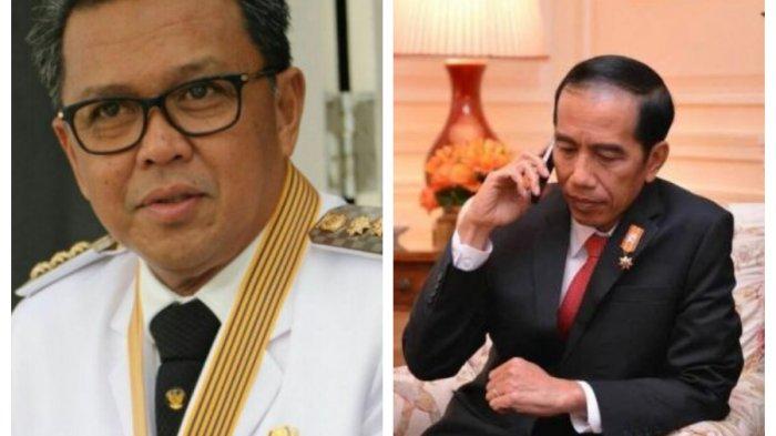 Presiden Jokowi Telepon Nurdin Abdullah Usai Menangi Pilkada Sulsel 'Bang Ara Mensupport Kita'
