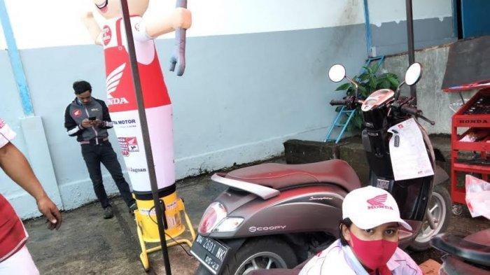Sosok Nadia Mekanik Perempuan Astra Honda Motor Makassar, Gemar Utak Atik Sejak Kecil