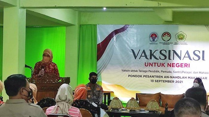 Dharma Wanita Kemenpora Target Vaksin 1.200 Tendik dan Pelajar