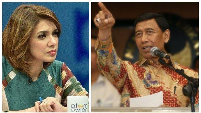 Najwa Shihab Berani Beri Pertanyaan Menohok ke Wiranto soal Papua, Menteri Jokowi Hela Nafas Panjang