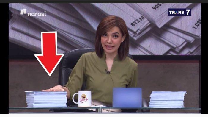 Serunya Mata Najwa Semalam, Najwa Bawa Bukti Anehnya Draft UU Cipta Kerja, DPR Ngaku Tak Tahu Menahu