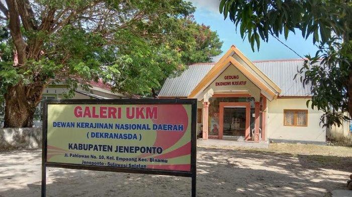 Gedung Milik Pemerintah, Tak Ada Bendera Merah Putih Terpasang di Kantor Dekranasda Jeneponto