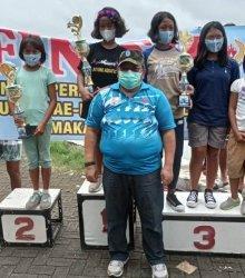Murid SDN 1 Lamappoloware Soppeng Juara Satu Lomba Renang di Makassar