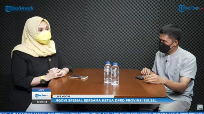 Kesibukan Andi Ina Kartika Sari sebagai Ibu Rumah Tangga Sekaligus Ketua DPRD Sulsel