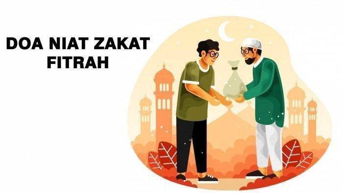 ZAKAT FITRAH: Bacaan Niat Zakat Fitra untuk Diri Sendiri Keluarga Lengkap Bahasa Arab & Aritnya