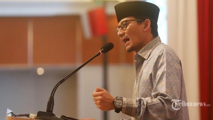 Diprediksi Jokowi Sandiaga Akan Melawan Prabowo di Pilpres 2024 Bersama Anies?