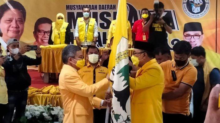 Sukri Sappewali & Hamzah Pangki Tak Bersyarat, Nirwan Arifuddin Aklamasi Pimpin Golkar Bulukumba